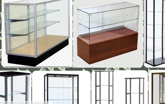 Glass Display Case Design screenshot 1