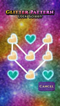 Glitter Pattern Lock Screen screenshot 5