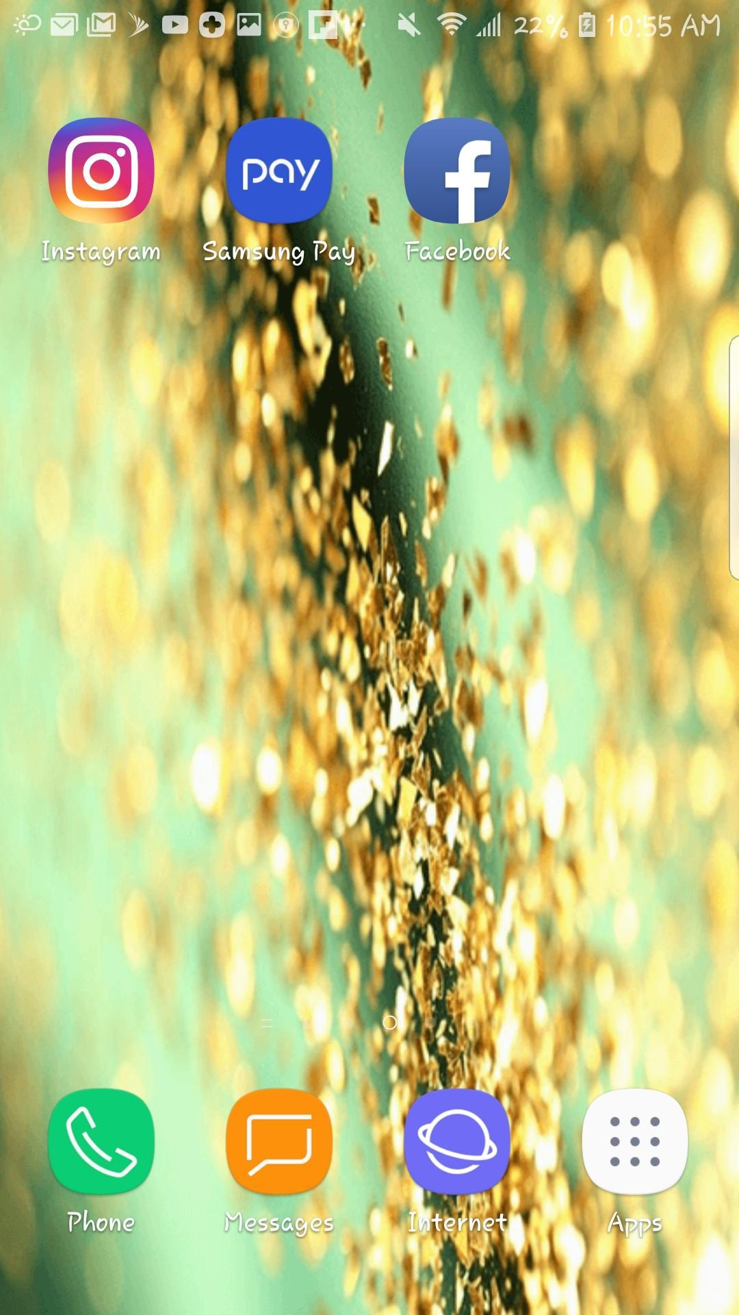 Glitter Beautiful Hd Wallpaper Mobile Background For Android