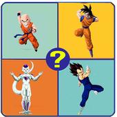 Adivina la sombra del personaje de DBZ icon
