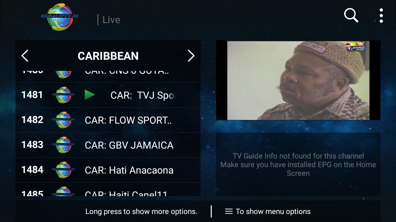 Global IPTV JA for Android - APK Download