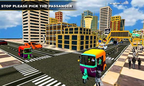 Tuk Tuk Rickshaw Driving Simulator poster