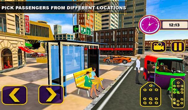 Tuk Tuk Rickshaw Driving Simulator screenshot 12