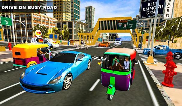 Tuk Tuk Rickshaw Driving Simulator screenshot 13