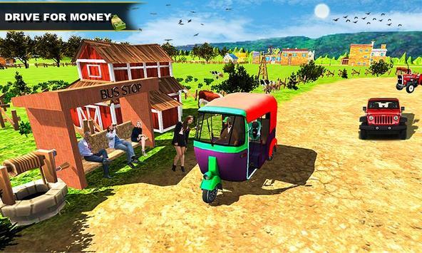 Tuk Tuk Rickshaw Driving Simulator screenshot 1