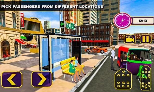 Tuk Tuk Rickshaw Driving Simulator screenshot 2