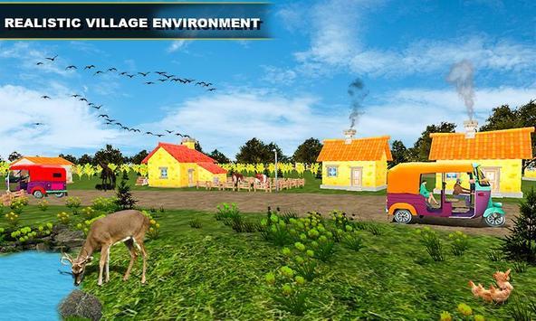 Tuk Tuk Rickshaw Driving Simulator screenshot 4