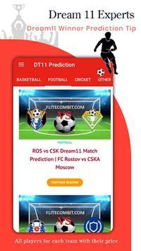 Dream 11 Experts - Dream11 Winner Prediction Guide screenshot 2