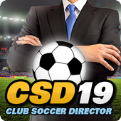 Club Soccer Director 2019 - Football Club Manager आइकन
