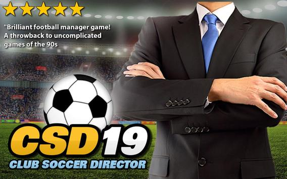 Club Soccer Director 2019 - Football Club Manager स्क्रीनशॉट 16