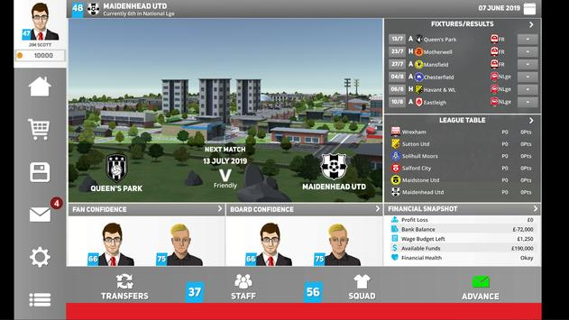 Club Soccer Director 2020 - Football Club Manager screenshot 8