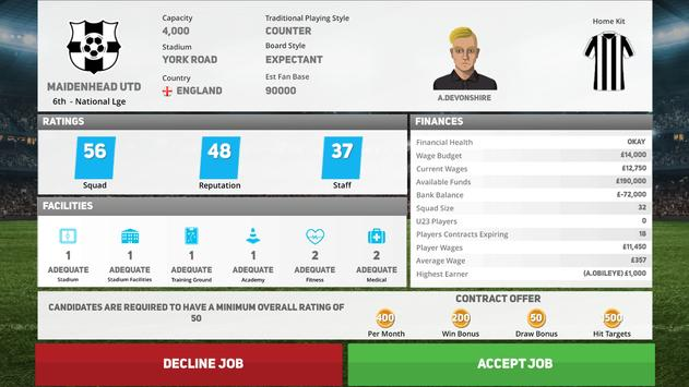 Club Soccer Director 2020 - Football Club Manager screenshot 9