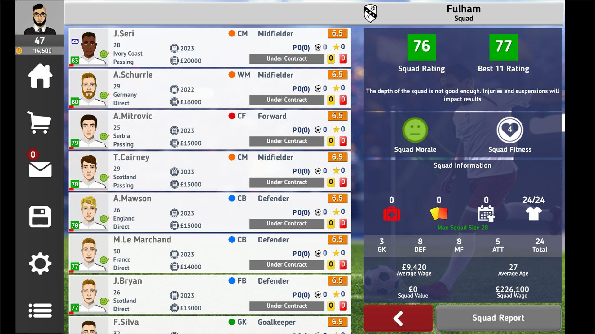 Club Soccer Director 2021 Soccer Club Manager For Android Apk Download