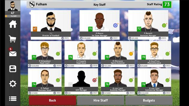 Club Soccer Director 2021 - Football Club Manager screenshot 12