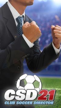Poster Club Soccer Director 2021 - Gestione del calcio