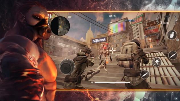 Project War Mobile - online shooter action game screenshot 2