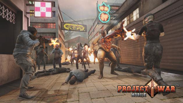 Project War Mobile - online shooter action game screenshot 5