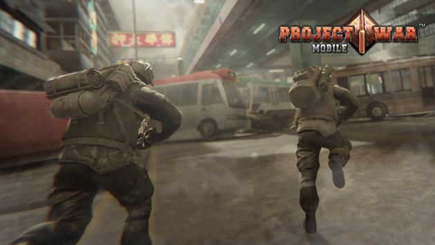 Project War Mobile - online shooter action game screenshot 6