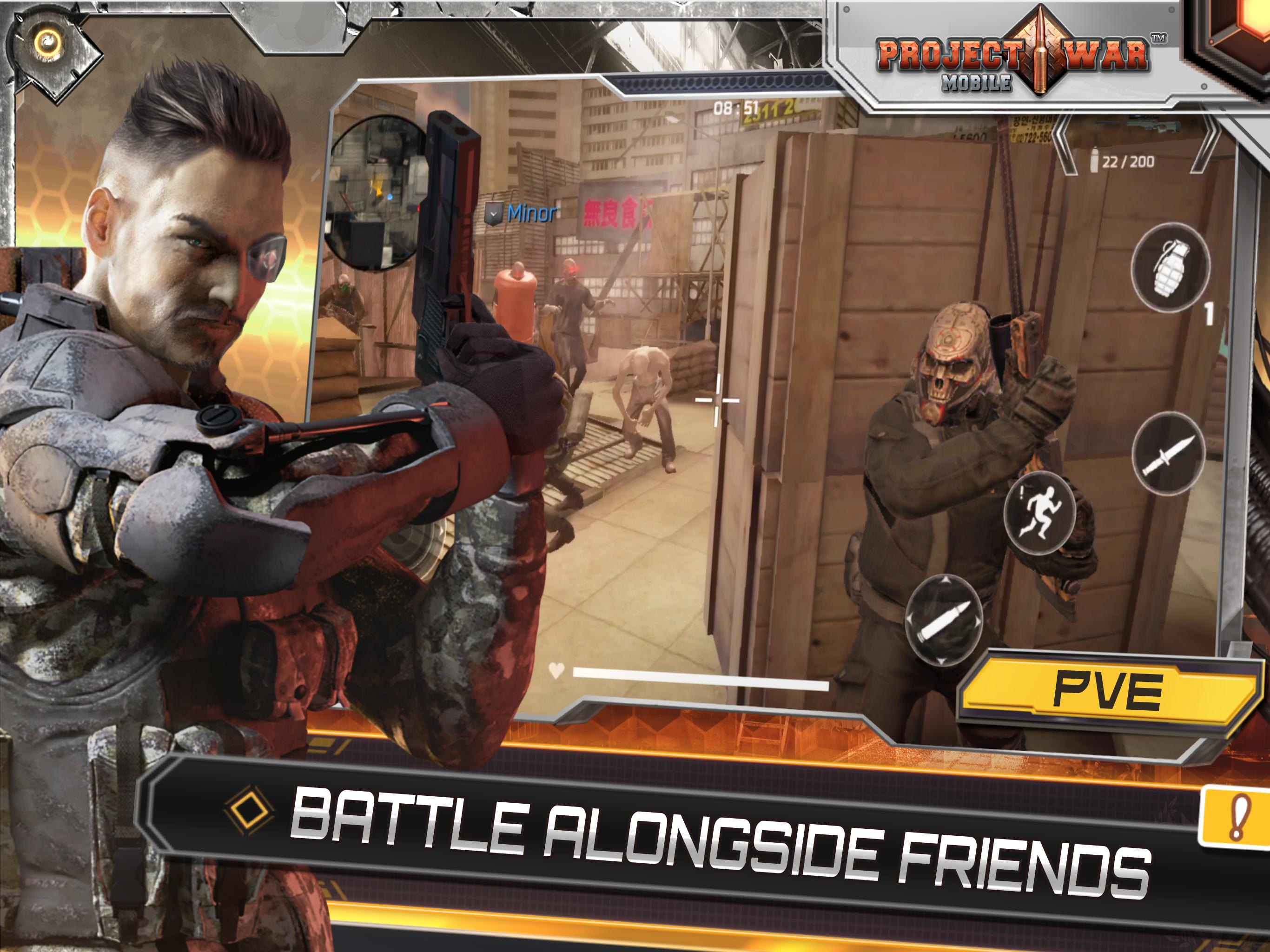 Project War Mobile for Android - APK Download