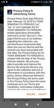 DJ TIDAK SEMUDAH ITU FERGUSO poster