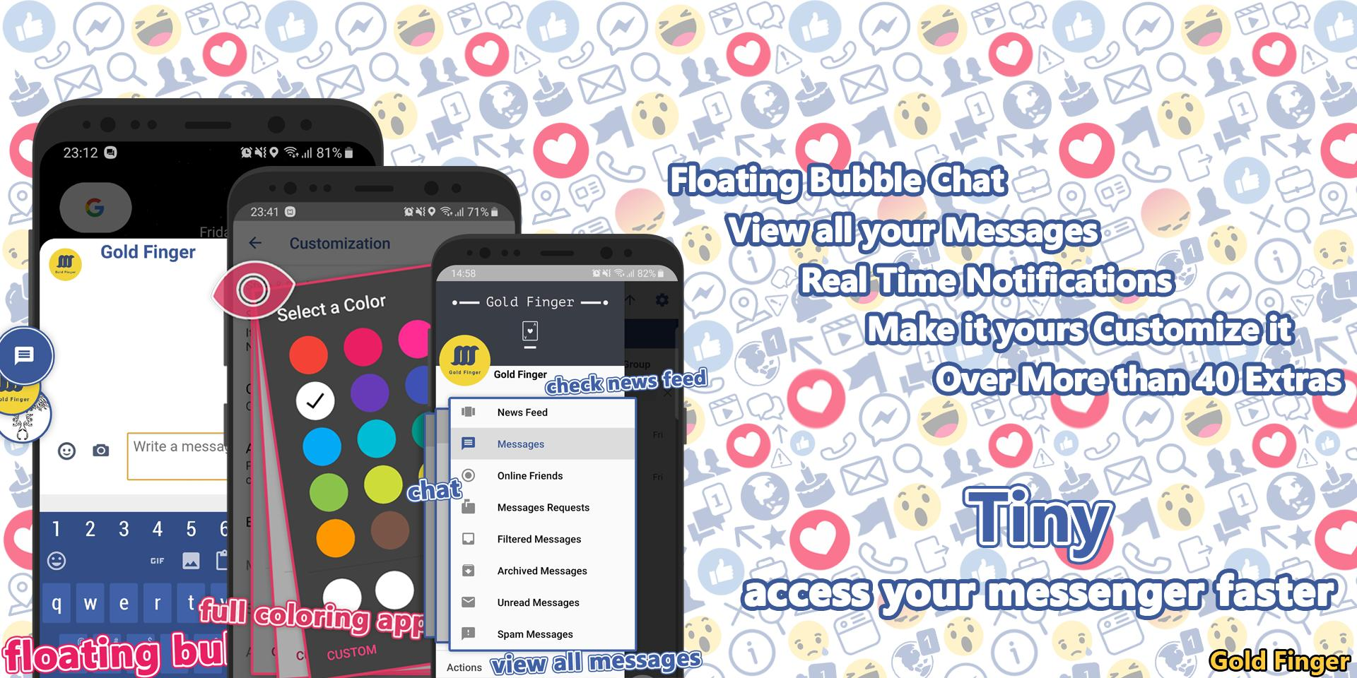 Tiny for Facebook Messenger - Free Calls & Video for Android - APK