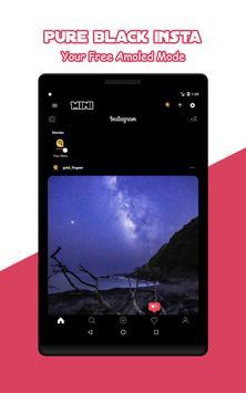 Mini for Instagram - Zoom Profile HD Downloader imagem de tela 11
