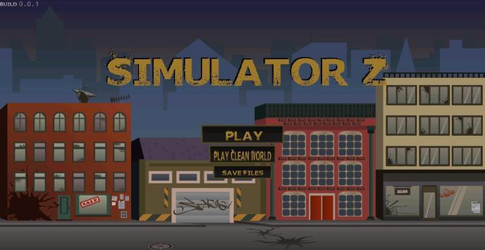 Simulator Z - Premium poster