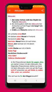 Deutsche Grammatik lernen B1 screenshot 2