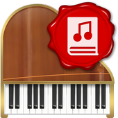 Digital Piano with Lessons icon