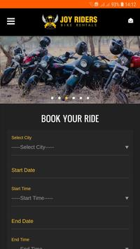 Joy Riders - Bike Rental screenshot 1