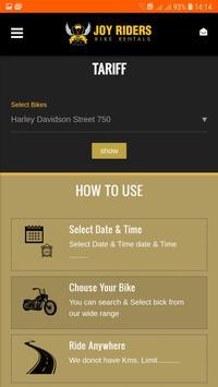 Joy Riders - Bike Rental screenshot 3