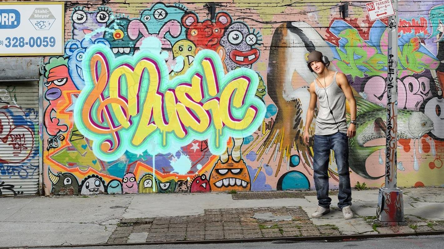 Grafiti tulis di gambar huruf keren screenshot 4