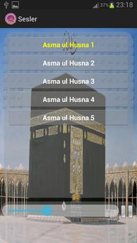 99 names of Allah with sound screenshot 1