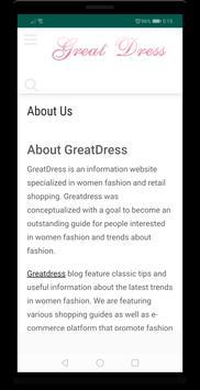 Great Dress screenshot 1