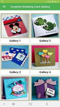 Creative Greeting Card Gallery Ideas poster