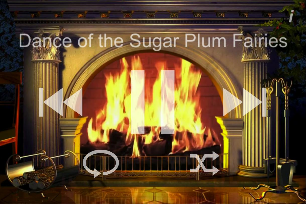 Fireplace With Christmas Music.Fireside Christmas Music Free For Android Apk Download