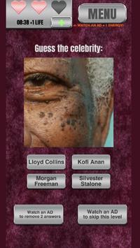 Zoomed-in Celebrity Quiz - New screenshot 3