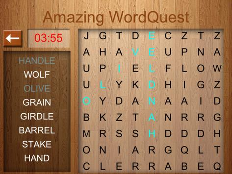 Amazing Word Quest Word Search screenshot 3
