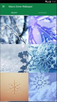 Snow Wallpaper poster