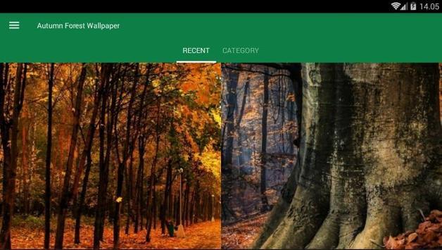 Autumn Forest Wallpaper screenshot 3