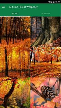 Autumn Forest Wallpaper poster