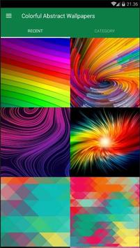 Abstract Colorful Wallpaper screenshot 1