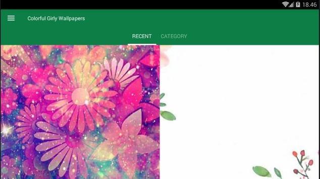 Girly Colorful Wallpaper screenshot 4
