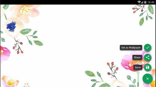 Girly Colorful Wallpaper screenshot 5