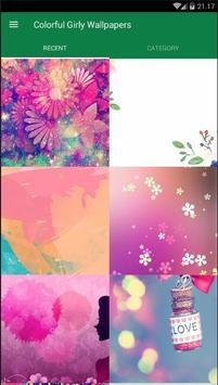Girly Colorful Wallpaper screenshot 1