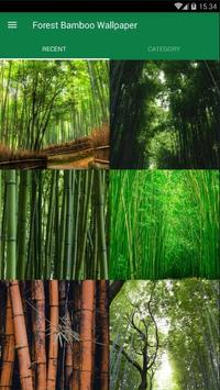 Bamboo Forest Wallpaper poster
