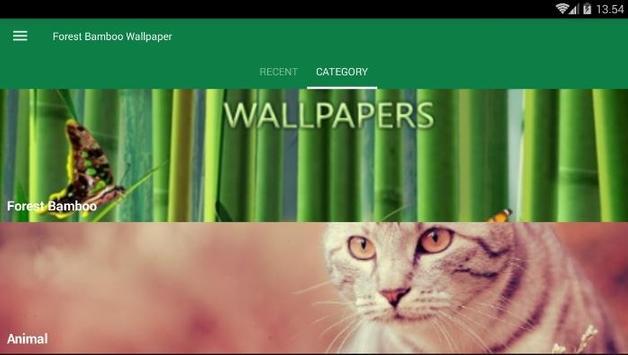 Bamboo Forest Wallpaper screenshot 2