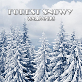 Snowy Forest Wallpaper icon