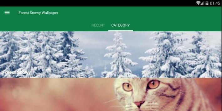 Snowy Forest Wallpaper screenshot 3