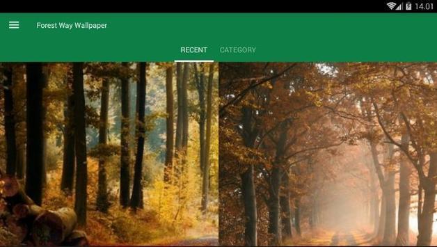 Forest Way Wallpaper screenshot 3